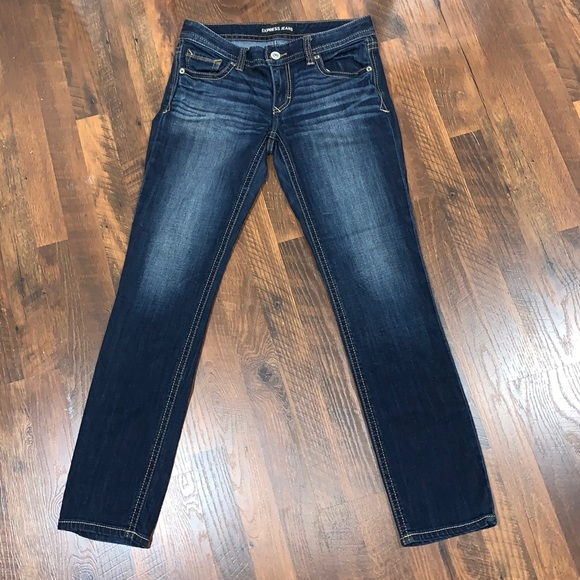 Express Skinny Low Rise Jeans